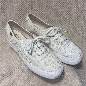 Platform lace Keds sneakers